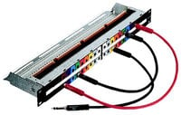 "Neutrik NPP-TB  1/4"" TRS Patchbay, full normal"