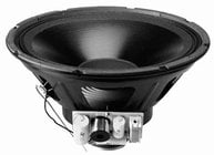 "Lowell 12P150 12"" 150W 8 Ohm 12' Coaxial Speaker Assembly"