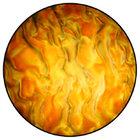 Rosco 33102 Gobo Amber Ripple