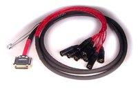 Avid DIGISNAKE-XLRM DigiSnake 12 ft. DB25 to XLR-M Input Snake (9940-29648-00)