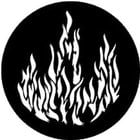 Rosco Laboratories 77175 Gobo Flame 77175