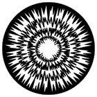 Gobo Jagged Circles