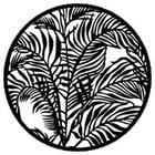 Gobo Tropical Leaves