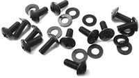 Standard Rack Screws and Washers, 24 Pieces