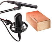 Studio Pack with AT4040 and AT4041 Condenser Microphones