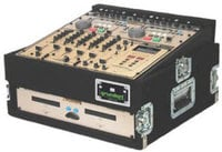 Grundorf TLR3DR-BLACK Top Load Rack (10-Space Slanted/3-Space Bottom/Recessed Hardware)