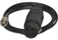 3-p Lemo To XLR Adapter Cable. 3.3ft