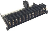 "Intelix DIN-RACK-KIT 19"" Balun Rack Mounting Tray (with 17"" DIN Rails)"