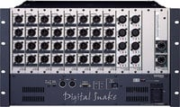 Roland System Group S4000S-0832 Digital Snake Stage Modular Rack 8 x 32