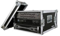 6U Deluxe Amplifier Rack Case