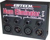 Hum Eliminator, 2 Channel with XLR Jacks
