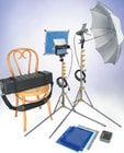 """Lowel Light Mfg V1-90ULBZ """"Go Easy"""" V Kit (with Soft Case)"""