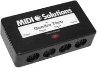 MIDI Solutions QUADRA-THRU 4-Output Active MIDI Thru Box