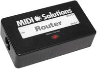 MIDI Solutions ROUTER 2-Output MIDI Message Router ROUTER