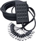 RapcoHorizon Music E24X4-150FF 150 ft. Equalizer Series 24x4 Snake with XLR Returns E24X4-150FF
