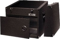 Carpeted DJ Case (9-Space Top, 6-Space Front)