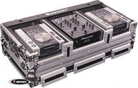"Odyssey FZ10CDIW DJ Coffin (for 10"" Mixer & 2 Medium CD Players)"