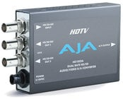 AJA Video Systems Inc HD10CEA SD/HD-SDI to Analog Audio/Video Mini Converter with Power Supply