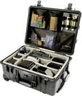 Pelican Cases 1564 Large Black Case with Padded Dividers