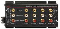 Radio Design Labs FP-AVDA4 Audio/Video Distribution Amplifier FP-AVDA4