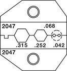 Paladin Tools 2047  Crimp Die Thinnet BNC/TNC