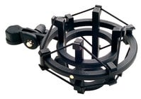 Shock Mount for Large Diaphragm Condenser Microphones