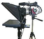 "Mirror Image Teleprompter FS150MP Free-Standing Prompter Kit (with 15"" SVGA LCD Monitor and Tripod Stand)"
