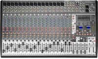 24-Channel 4-Buss Mixer with 16 XENYX Microphone Preamps and 99 Digital Effects Presets