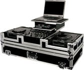 Odyssey FZGS12CDJW  Glide-Style DJ Coffin Case (with Wheels & Sliding Laptop Tray)
