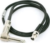 "Lectrosonics MI39ARA 30"" Active Instrument to Wireless Transmitter Cable - TA5F Connector to Right-Angle 1/4"" Plug MI39ARA"