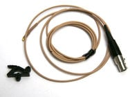 Countryman E6CABLET-NS-DURAMAX E6 Cable, Nady Transmitter,Tan