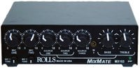 Rolls MX153 Mix Mate 2x XLR(Mic), 3x RCA (Stereo Source) Mixer with Ducking
