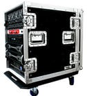 "Deluxe Amp Case, 14U, 24"" Depth, Caster Board"