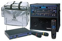 VocoPro GIGSTAR-PRO-II Professional Karaoke System Package, 100W