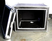 Amplifier Case, Shock Mounted, 8U