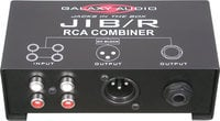 Galaxy Audio JIB/R Combiner (2x Stereo to 1 Mono)