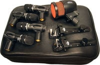 5-Piece Drum Microphones Kit (4x Handi Mic Pro Plus, 1x PR48)