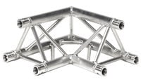 Global Truss TR-4088-U/D 2-Way 90° Triangular Truss Corner (Apex Up or Down) TR4088-U/D