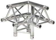 Global Truss TR-4093-U/L 1.64 ft. 3-Way 90° Corner Junction with Apex Up Left