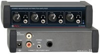 RDL EZ-HDA4A 1x4 Headphone Distribution Amplifier