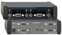 Radio Design Labs EZ-VM24E Switcher, 2x4 VGA/XGA