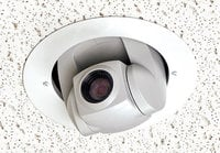 Half-Recessed Ceiling Mounted PTZ Camera System for Sony EVI-D70C/W