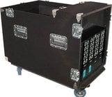 Grundorf Corp SNR12C  12 RU Snake Rack (with Casters)
