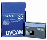DVCAM Tape, No Chip 32 Minutes