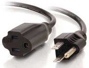 15' Outlet Saver Extension Cord