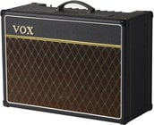 "Vox Amplification AC15C1 Custom 15W Tube Combo Guitar Amp, Tube Combo, 15W, 1x12"" Celestion G12M Greenback Speaker"