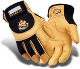 Setwear SWP-09-009 Medium Tan Pro Leather Gloves SWP-09-009