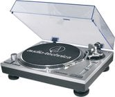 Audio-Technica AT-LP120-USB Direct Drive Professional Turntable with USB & Analog Output, in Silver