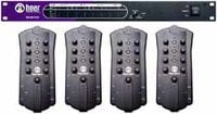 Hear Technologies HEAR-BACK-FOUR-PACK Personal Monitor Mixing System with 4 Personal Mixers and 1 Hub