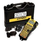 Rhino 5200 Industrial Label Printer Hard Case Kit with Li-Ion Battery, AC Adapter, and 2 Rolls of Industrial Tapes